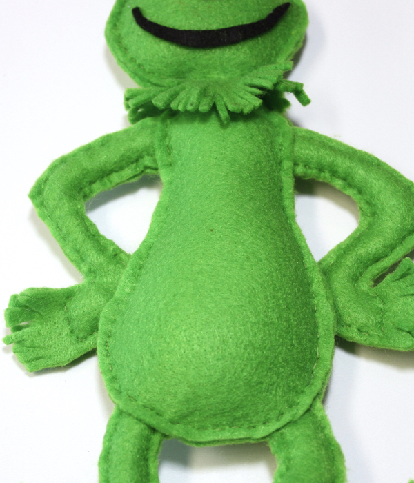 How to Make a Grinch Softie