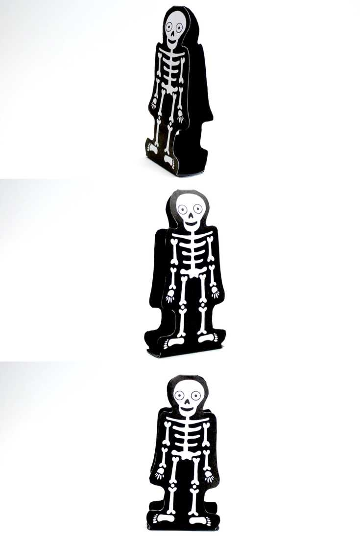 Learning About Bones + a Free Skeleton Puppet Craft