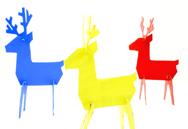 How to Make a Reindeer Out of Cardboard - Easy Kids Crafts for Christmas