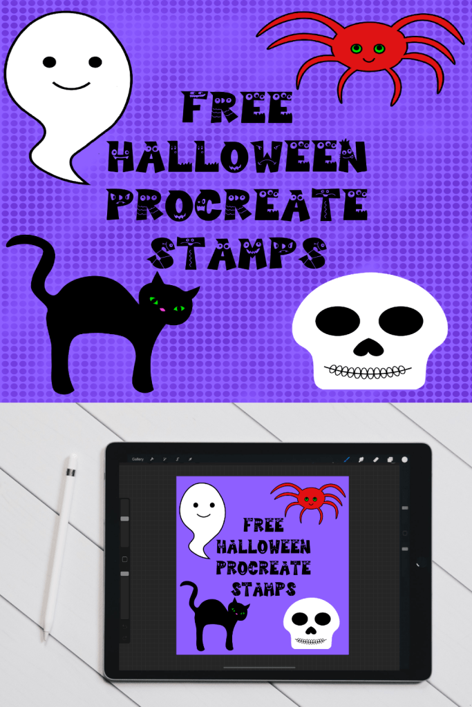 Free Halloween Stamps for Procreate