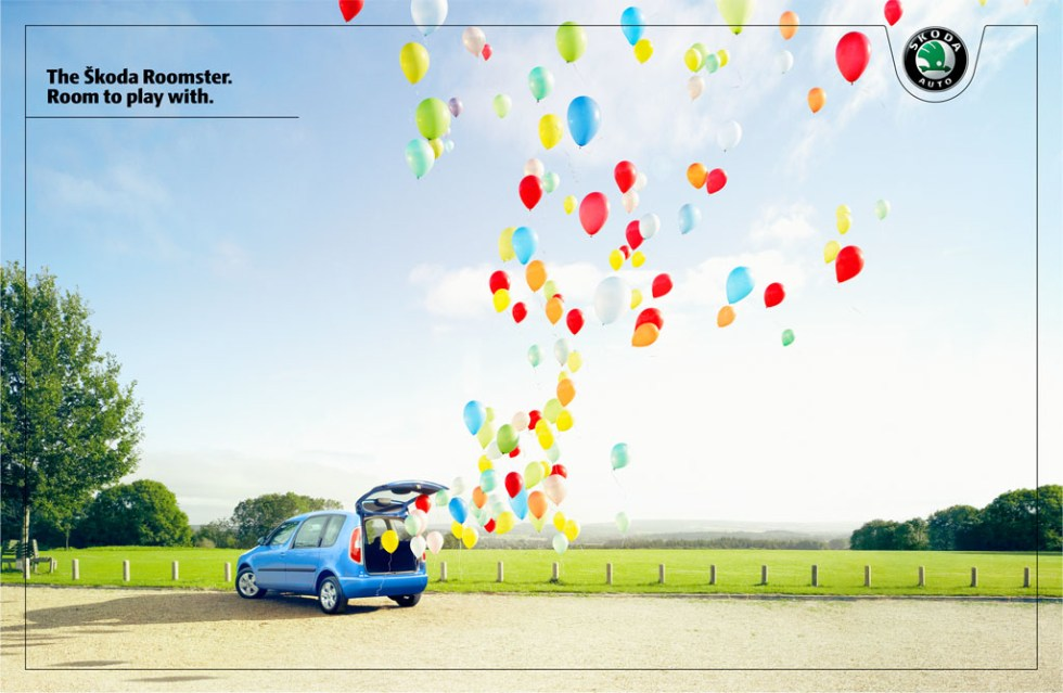 Skoda balloons