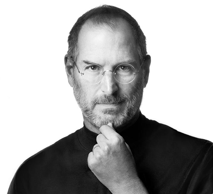 Head shot of Steve Jobs