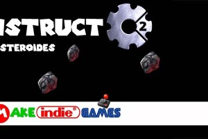 Construct 2 - Jogo asteroides