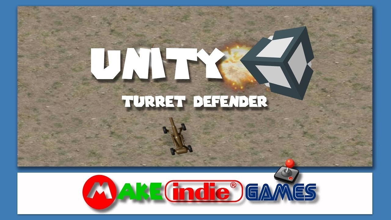 Unity: Crie o jogo Turret Defender