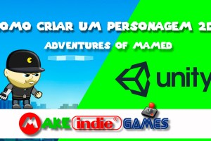 UNITY - Criando o personagem (player) Alex Mamed em 2D