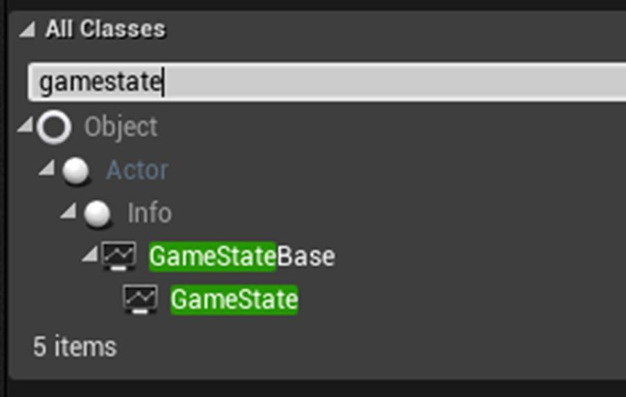 Como criar a classe game state