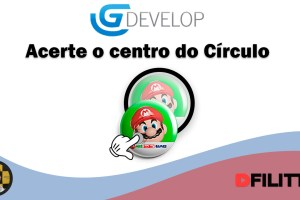 GDevelop - Acerte o centro do círculo