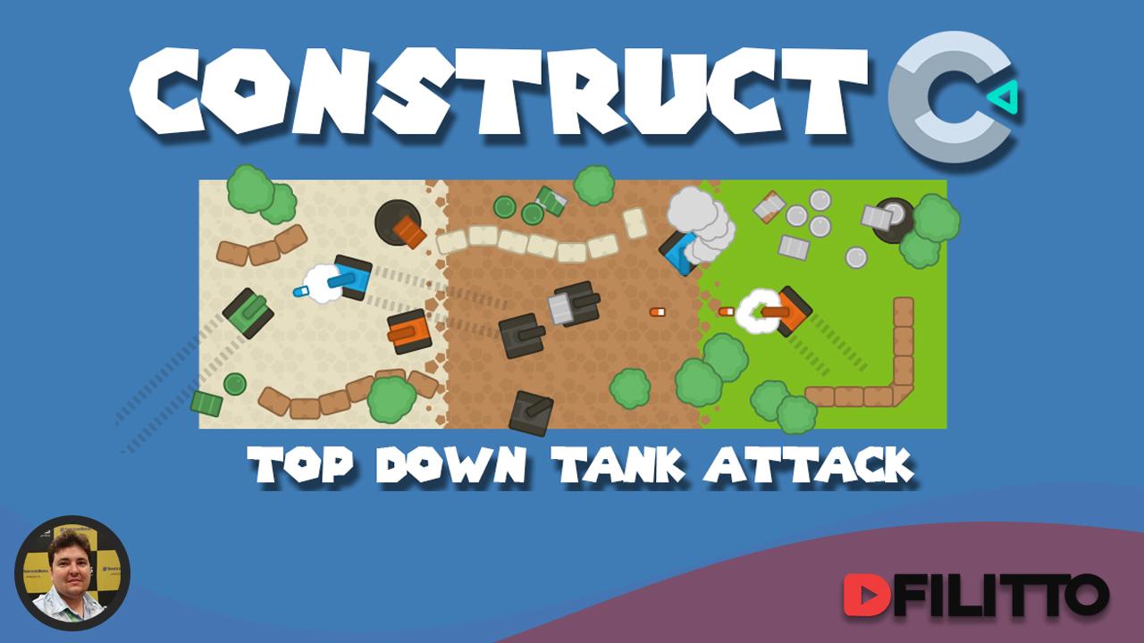 Construindo um jogo Top Down no Construct 3