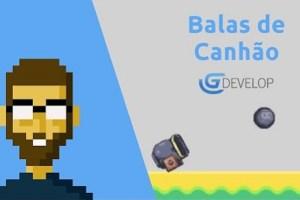 GDevelop 5 - Balas de Canhão estilo Angry Birds