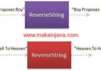 reverse string word stack