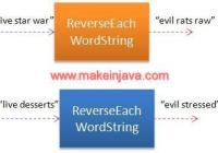 reverse each word string