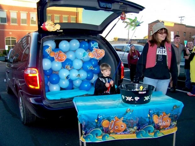 Christian Trunk Treat Or Decorating Ideas