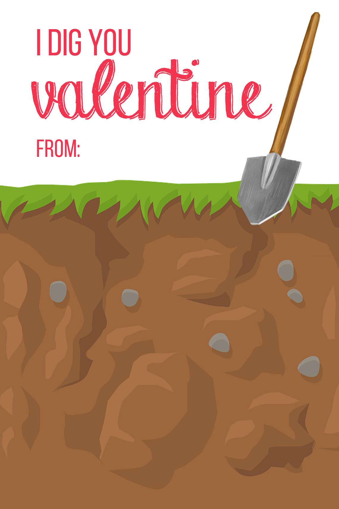 F R E E Valentine Card Printables Star Wars And Gummy Worm Themes