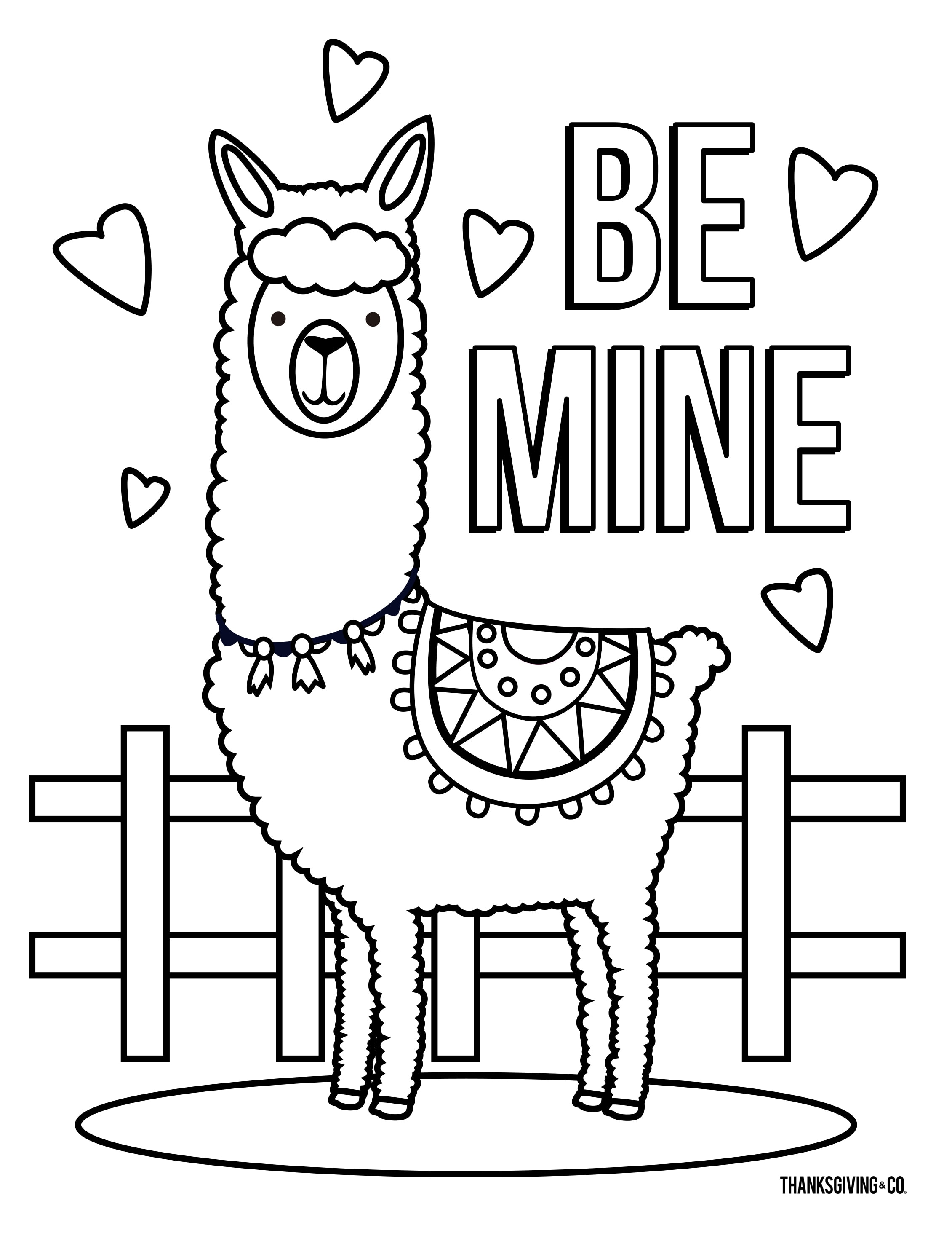 4 Free Valentine S Day Coloring Pages For Kids
