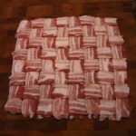 """Bacon Weave How To,"" from The Hog Blog, via Make It Like a Man! Bacon Wrapped Meat Roll"