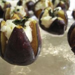 """Roasted Stuffed Figs,"" via Make It Like a Man! Figs and Mascarpone"