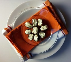Dates Stuffed with Goat Cheese, via Make It Like a Man!