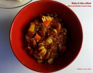 Thick and Chunky Tomato Soup, via Make It Like a Man!