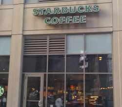 Starbucks West Loop Lake Jefferson, via Make It Like a Man! Free Wi-Fi in Fulton River District