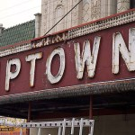 """Uptown Theater Marquee,"" from Red Line Project, via Make It Like a Man! The Vader"