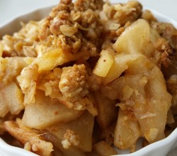 """Apple Crisp,"" from Make It Like a Man!"