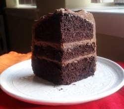 """Dark Chocolate Olive Oil Cake,"" from Make It Like a Man!"