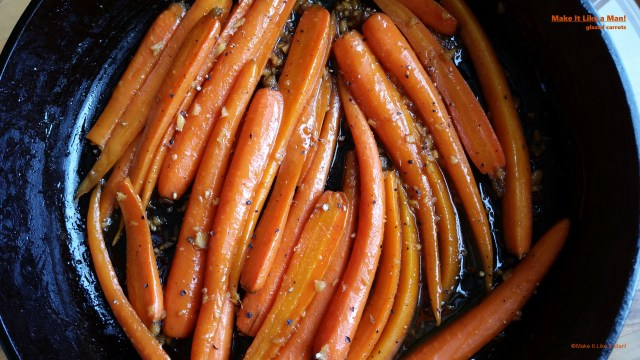 """Whiskey Carrots,"" from Make It Like a Man! Christmas Menu for Six"