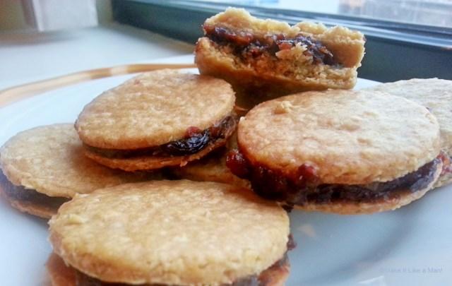 """""""Oatmeal Raisin Sandwich Cookies,"""" from Make It Like a Man!"""