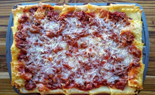 """Lasagna, "" from Make It LIke a Man!"