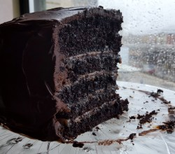 """Chocolate Caramel Cake,"" from Make It Like a Man!"