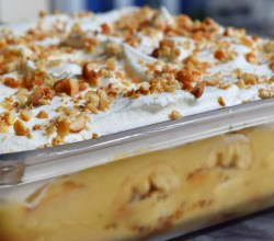 """Peanut Butter Banana Pudding,"" from Make It Like a Man!"