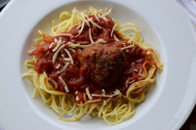 """Spaghetti and Meatballs,"" from Make It Like a Man!"