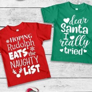 Personalised Christmas T-Shirts Ireland