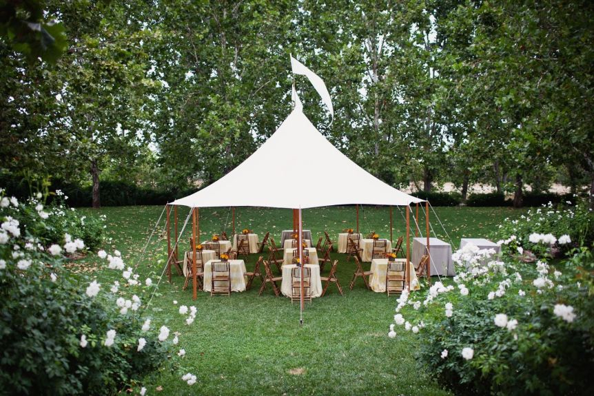 sperry tent wedding rentals