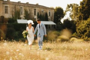 bride and groom dream wedding