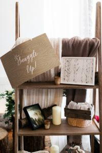Wedding Planner snuggle up blankets