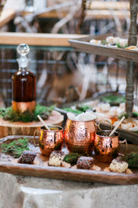 Wedding Planner Moscow Mule and catering