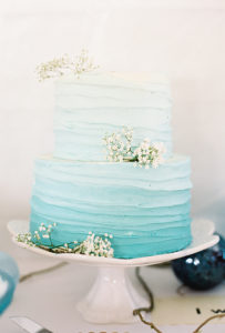 Coastal Wedding Cake Wedding Planner
