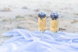 Engagement Champaign Toast