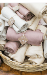 Gracious Host snuggle up wedding blankets