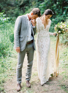 Inspiration board vineyard wedding