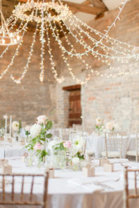 pastel wedding string lights event planner