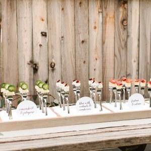 food bar wedding catering