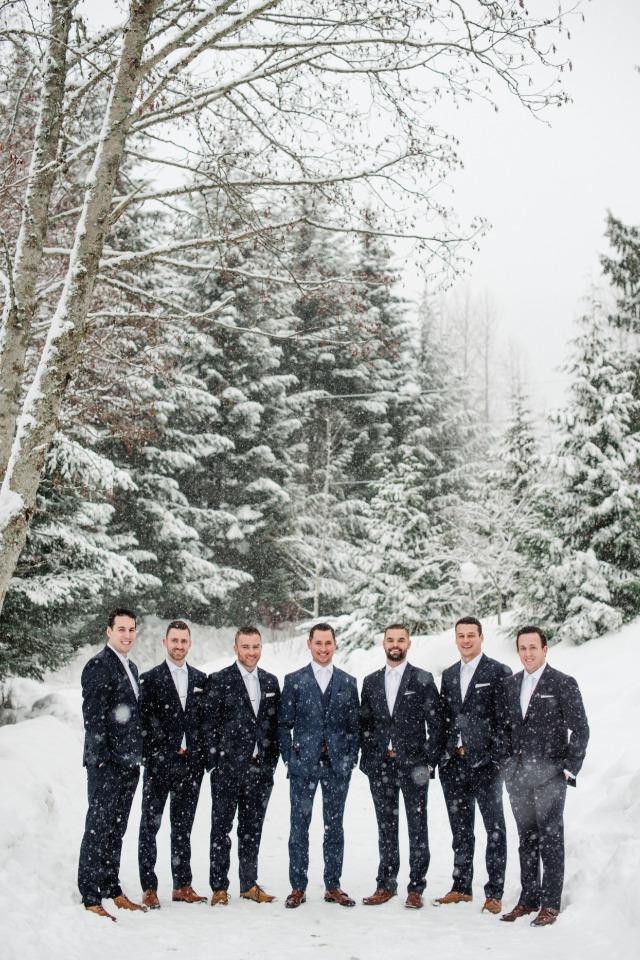 wedding party groomsmen