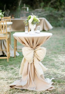 wedding tables on a budget