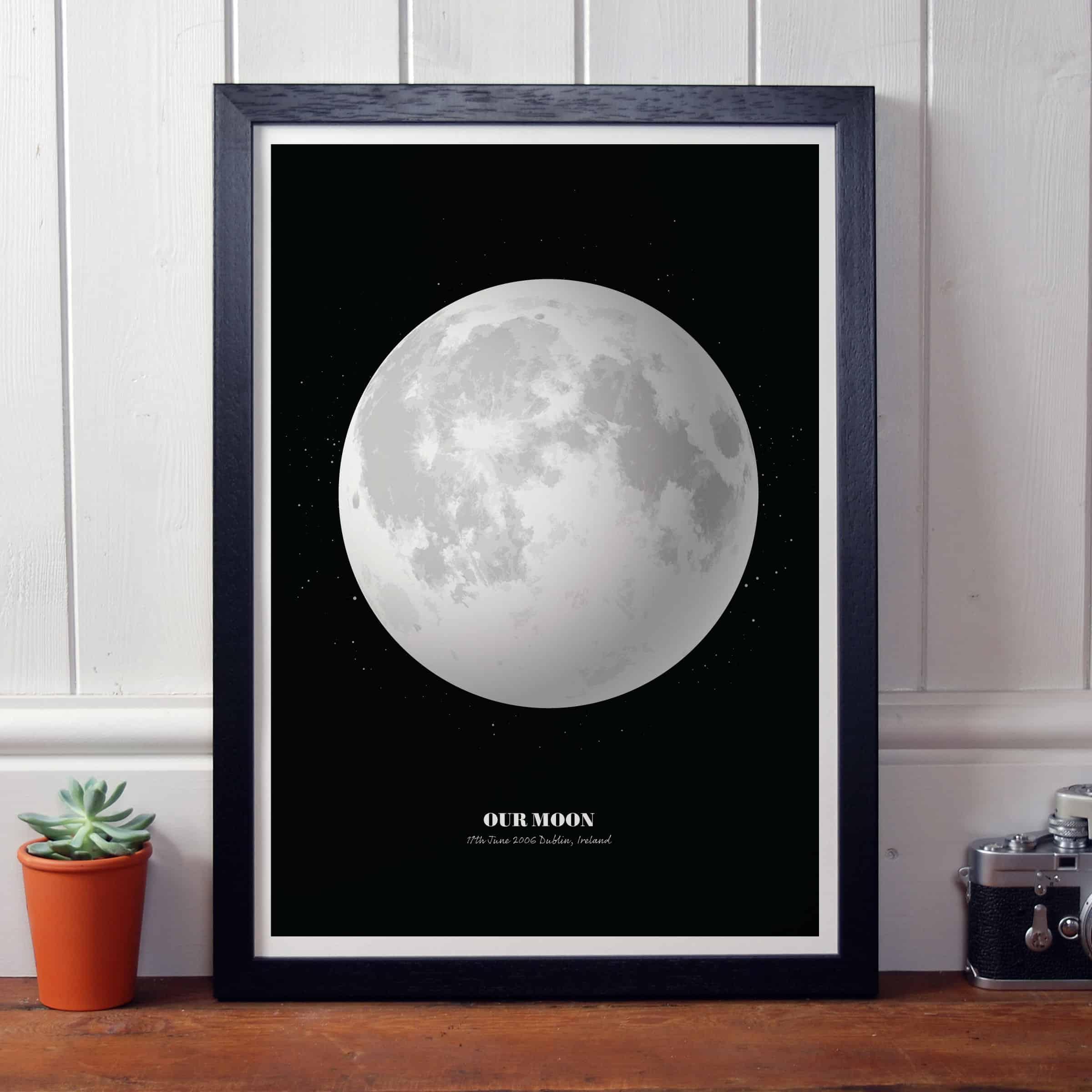 Personalised Moon Phase Print