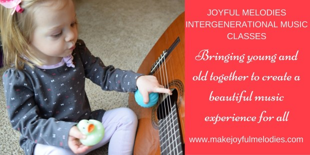 Joyful Melodies Intergenerational Music Classes