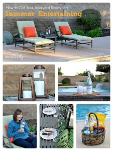 How to Get Your Backyard Ready for Summer Entertaining + Mom in Paradise Sweepstakes