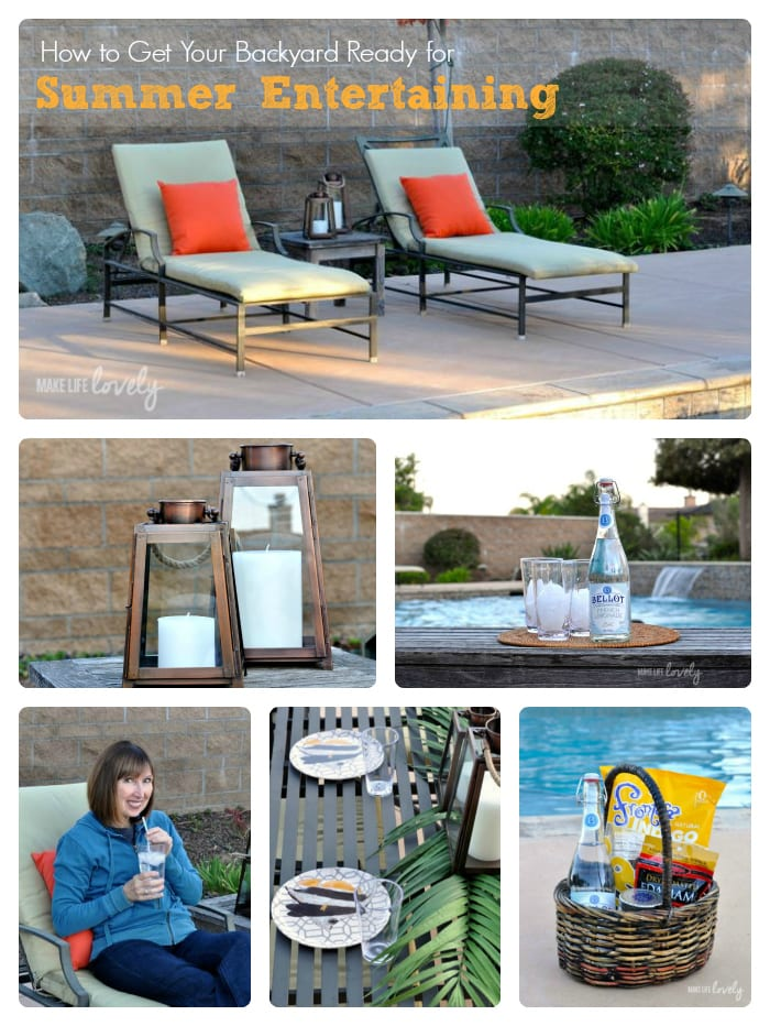 How to Get Your Backyard Ready for Summer Entertaining
