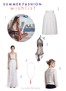 Summer Fashion Wish List